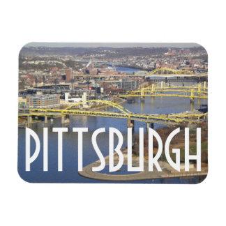 Pittsburgh Rectangular Photo Magnet