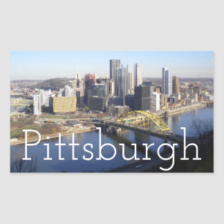 Pittsburgh Rectangular Sticker