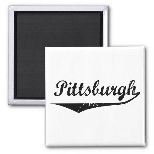 Pittsburgh Refrigerator Magnet