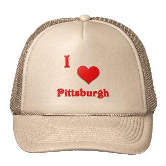 Pittsburgh -- Rojo Gorros Bordados