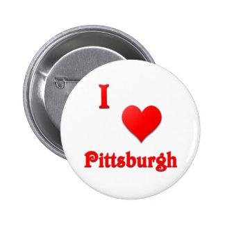 Pittsburgh -- Rojo Pin