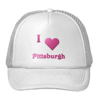 Pittsburgh -- Rosas fuertes Gorro De Camionero