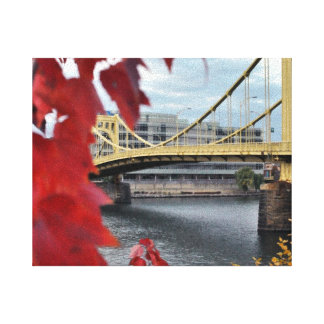Pittsburgh s Beauty Canvas Print