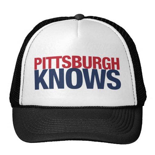 Pittsburgh sabe gorros