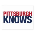 Pittsburgh sabe postales