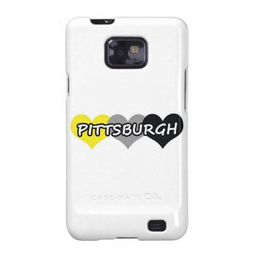 Pittsburgh Samsung Galaxy S2 Carcasa