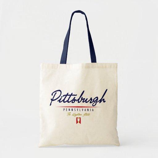 Pittsburgh Script Bag