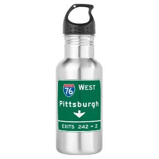 Pittsburgh, señal de tráfico del PA