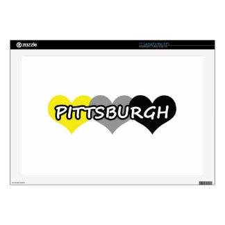 Pittsburgh Calcomanías Para Portátiles