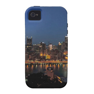 Pittsburgh Skyline at Dusk Case-Mate iPhone 4 Case