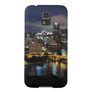 Pittsburgh Skyline at Dusk Case For Galaxy S5