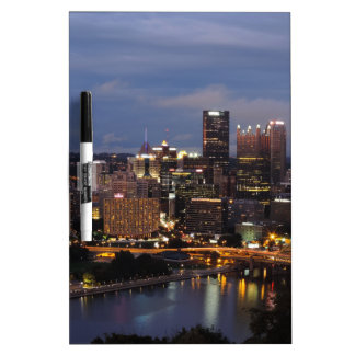 Pittsburgh Skyline at Dusk Dry-Erase Boards