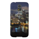 Pittsburgh Skyline at Dusk Galaxy S5 Covers