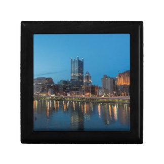 Pittsburgh Skyline at Dusk Gift Box