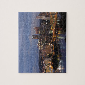 Pittsburgh Skyline at Dusk Jigsaw Puzzle