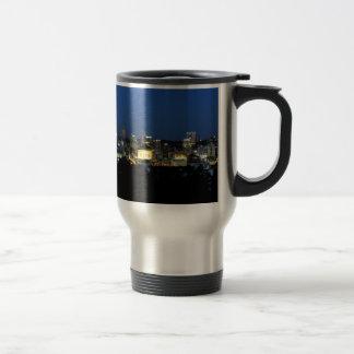 Pittsburgh Skyline at Dusk Travel Mug