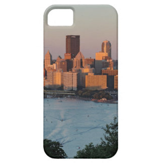 Pittsburgh Skyline at Sunset iPhone 5 Covers