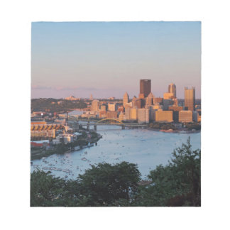 Pittsburgh Skyline at Sunset Notepads