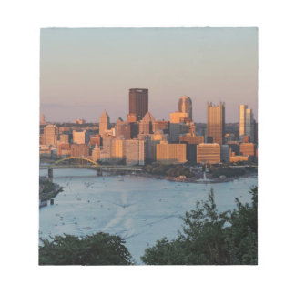 Pittsburgh Skyline at Sunset Note Pads