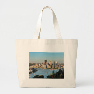 Pittsburgh Skyline Canvas Bag