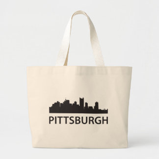Pittsburgh Skyline Canvas Bag