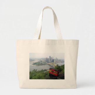 Pittsburgh Skyline Canvas Bags
