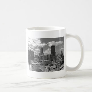 Pittsburgh Skyline Black and White Coffee Mug