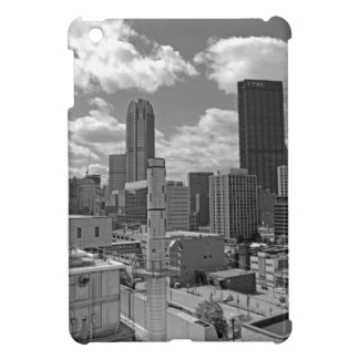 Pittsburgh Skyline Black and White iPad Mini Cases