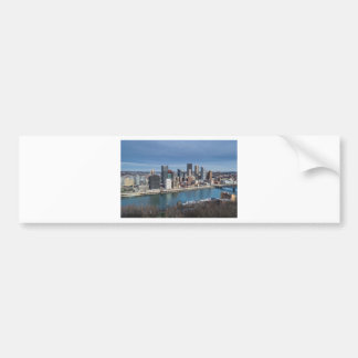 Pittsburgh Skyline Bumper Sticker