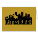 Pittsburgh Skyline Cards