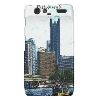 Pittsburgh Skyline Motorola Droid RAZR Case
