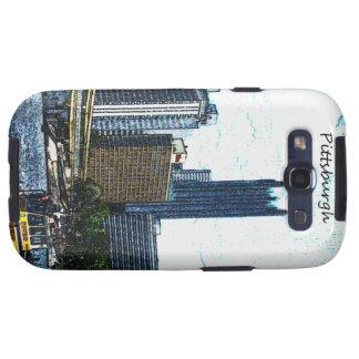 Pittsburgh Skyline Galaxy SIII Cases