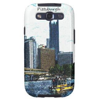 Pittsburgh  Skyline Samsung Galaxy SIII Covers