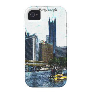 Pittsburgh  Skyline iPhone 4 Cases