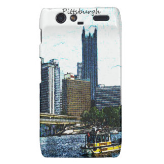 Pittsburgh  Skyline Motorola Droid RAZR Cover