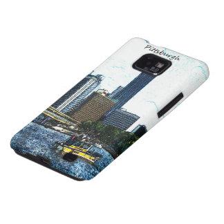 Pittsburgh Skyline Samsung Galaxy S2 Cover