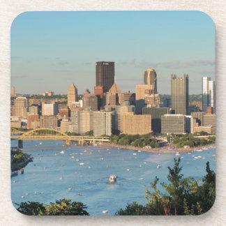 Pittsburgh Skyline Beverage Coaster