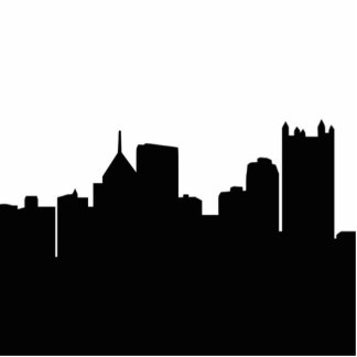 Pittsburgh Skyline Cutout