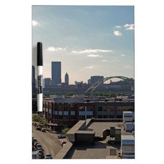 Pittsburgh Skyline Dry Erase Whiteboards