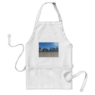 Pittsburgh skyline from PNC Park Adult Apron