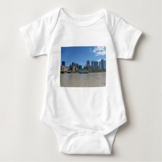 Pittsburgh skyline from PNC Park Baby Bodysuit