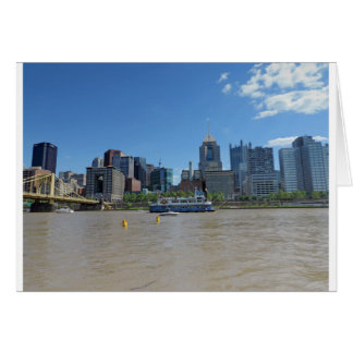 Pittsburgh skyline from PNC Park Card
