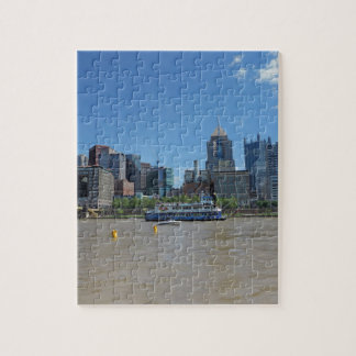 Pittsburgh skyline from PNC Park Jigsaw Puzzle