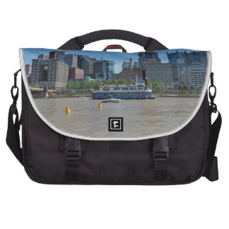 Pittsburgh skyline from PNC Park Laptop Computer Bag
