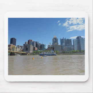 Pittsburgh skyline from PNC Park Mouse Pad