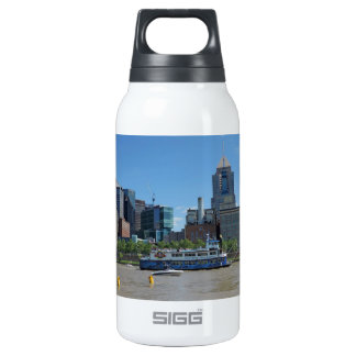 Pittsburgh skyline from PNC Park Thermos Bottle