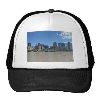 Pittsburgh skyline from PNC Park Trucker Hat