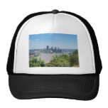 Pittsburgh Skyline from West End Overlook Hats
