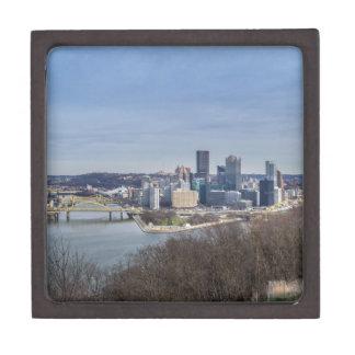 Pittsburgh Skyline Jewelry Box