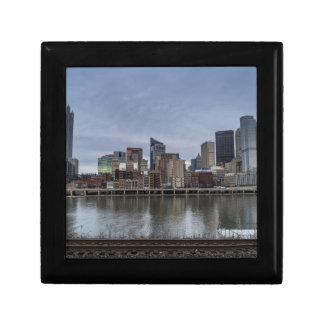 Pittsburgh Skyline Keepsake Box